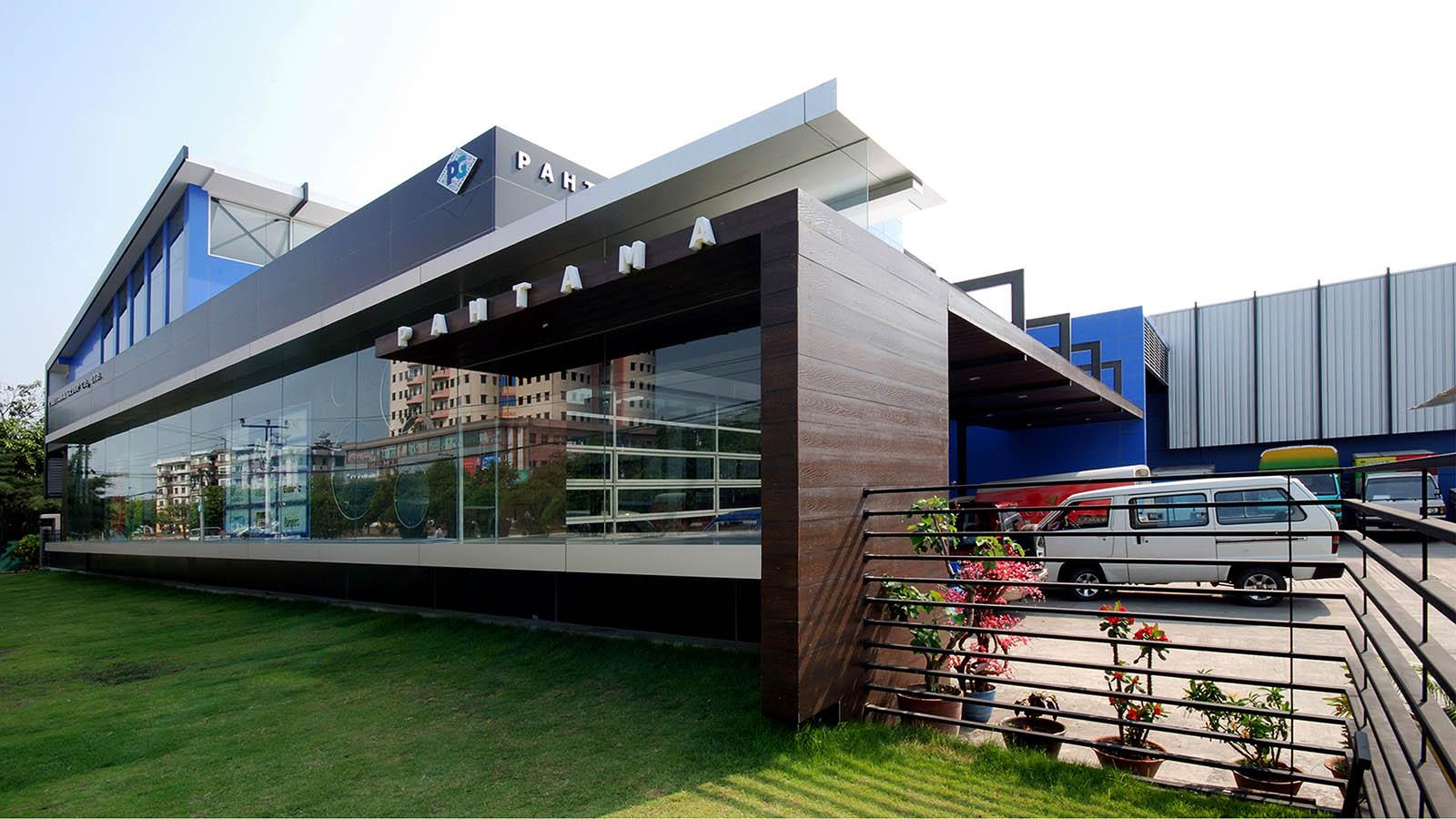 Pahtama Group Office » SPINE Architects